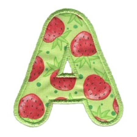 Applique Alphabet 1