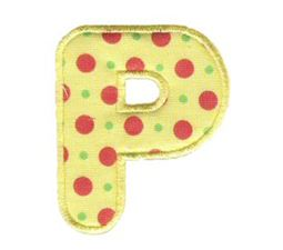 Applique Alphabet 16