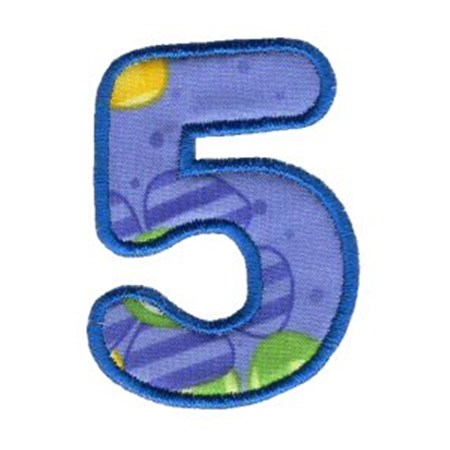 Applique Alphabet 32