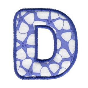 Applique Alphabet 4