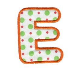 Applique Alphabet 5