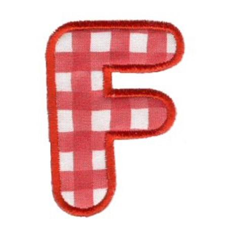 Applique Alphabet 6