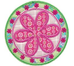 Applique Circle Frames 11