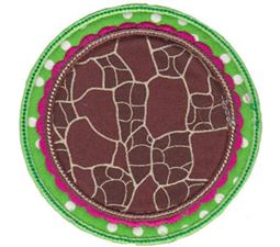 Applique Circle Frames 2