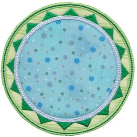 Applique Circle Frames 3