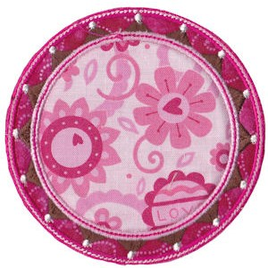 Applique Circle Frames 4