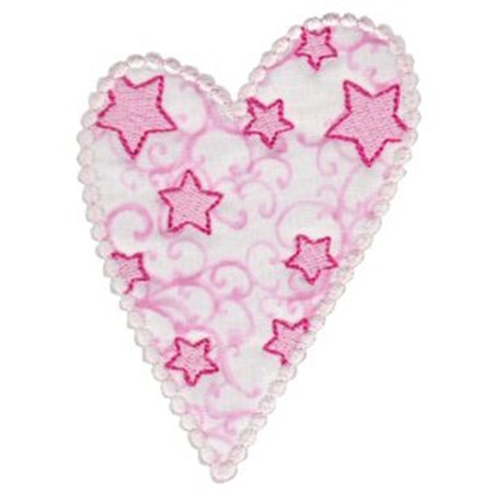 Applique Hearts 1