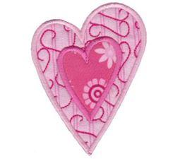 Applique Hearts 12
