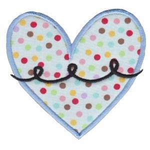 Applique Hearts 14