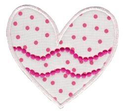 Applique Hearts 17