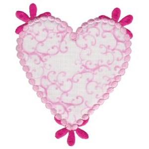 Applique Hearts 24