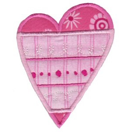 Applique Hearts 6