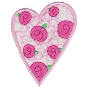 Applique Hearts 8