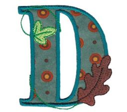 Autumn Alphabet D