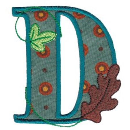 Autumn Alphabet D