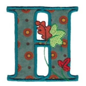 Autumn Alphabet H