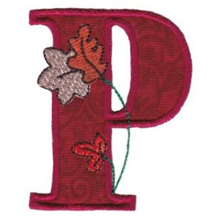 Autumn Alphabet P
