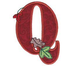 Autumn Alphabet Q