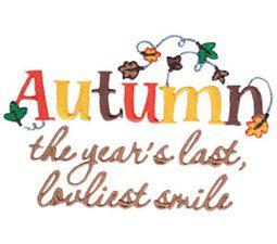 Autumn Sentiments 8