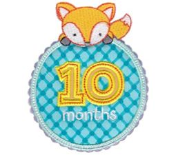 Baby Months Applique 10