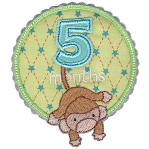 Baby Months Applique 5