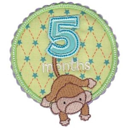 Baby Months Applique 5