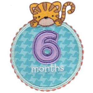 Baby Months Applique 6