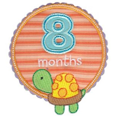 Baby Months Applique 8
