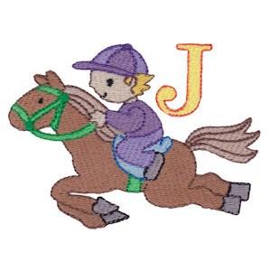 Boys Alphabet J