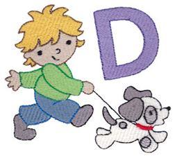 Boys Alphabet D