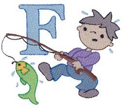 Boys Alphabet F