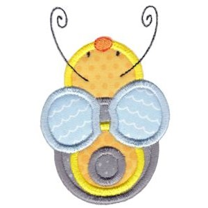 Busy Bees Applique 4