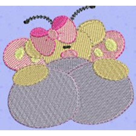 Butterfly Bear Peekers 6