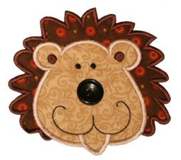 Button Nose Applique 10