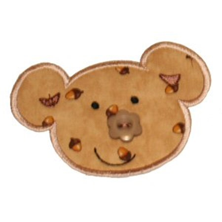 Button Nose Applique 3