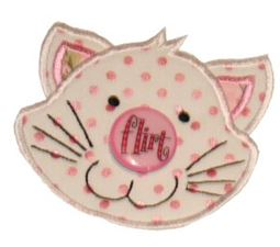 Button Nose Applique 4