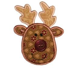 Button Nose Applique 6