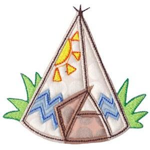 Camping Applique 18