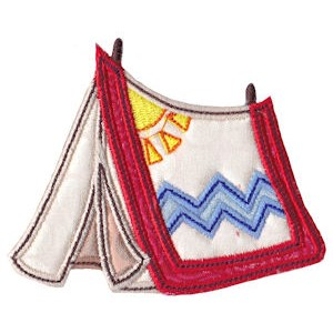 Camping Applique 19