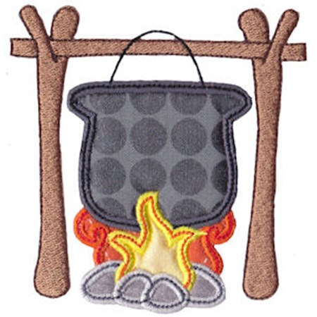 Camping Applique 8