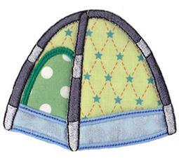 Camping Applique 9