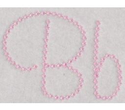 Candlewicking Alphabet B