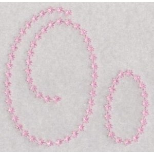 Candlewicking Alphabet O