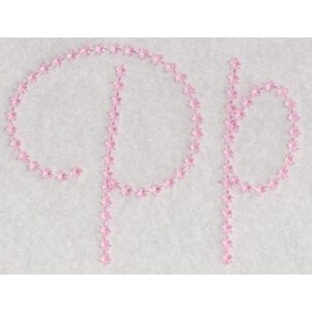 Candlewicking Alphabet P