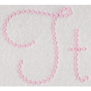 Candlewicking Alphabet T
