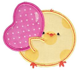 Chickadee Applique 12