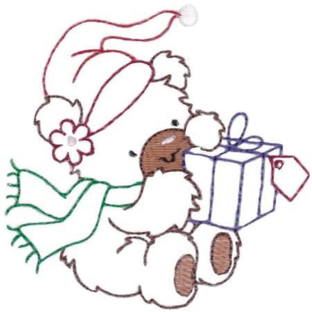 Christmas Bears Vintage Stitch 10