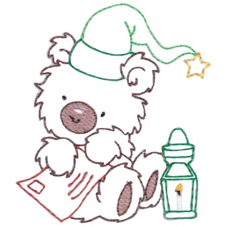 Christmas Bears Vintage Stitch 11
