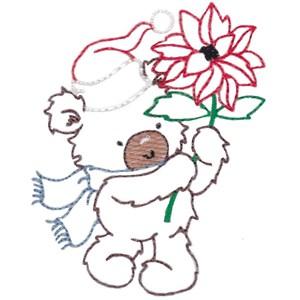 Christmas Bears Vintage Stitch 4