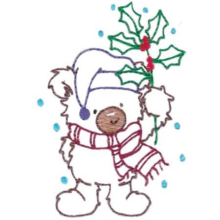 Christmas Bears Vintage Stitch 7